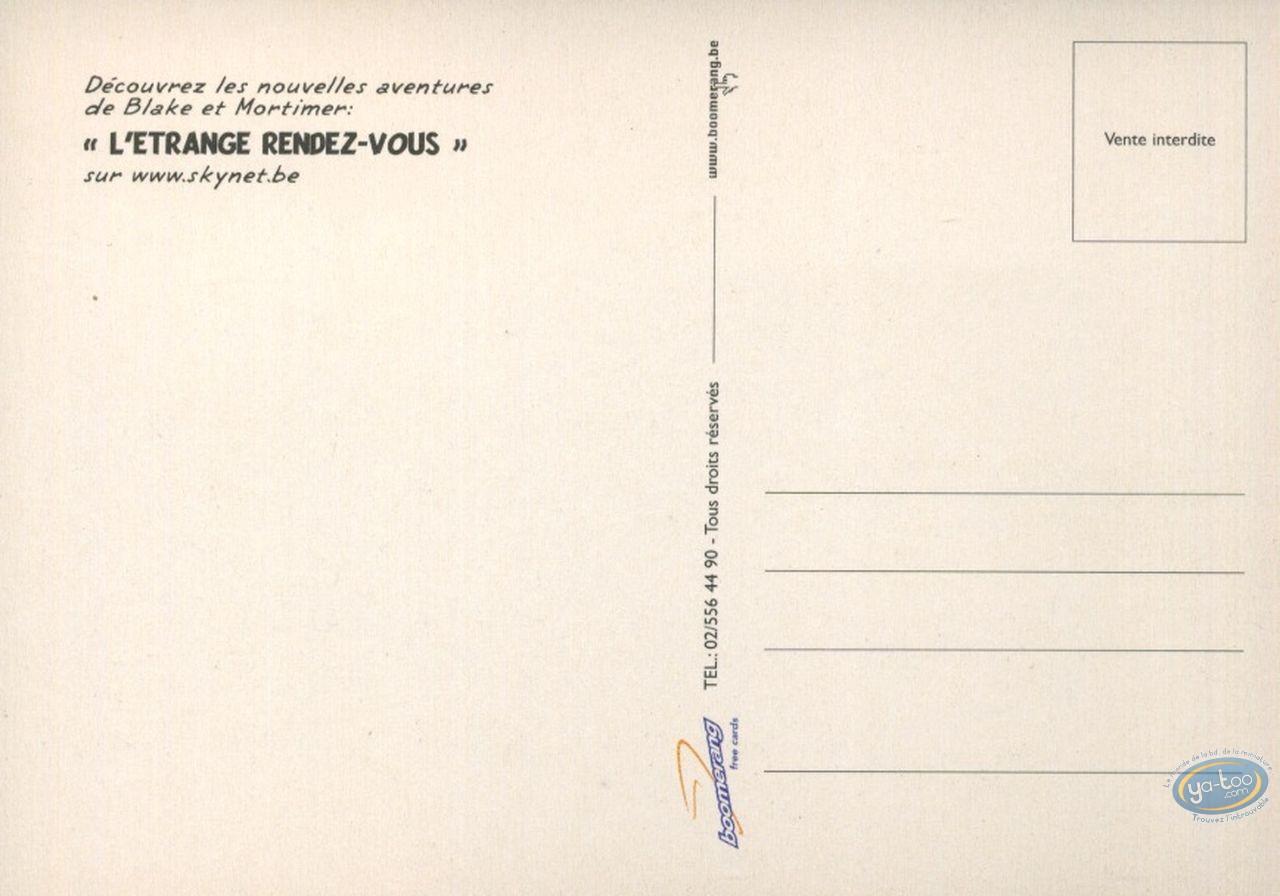 Carte postale, Blake et Mortimer : Un étrange rendez-vous