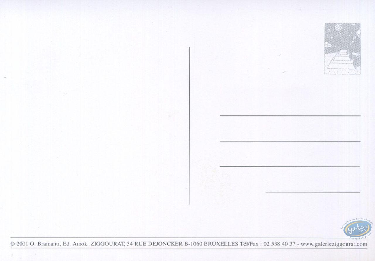 Carte postale, Chemin des merles (Le) : Le chemin des merles