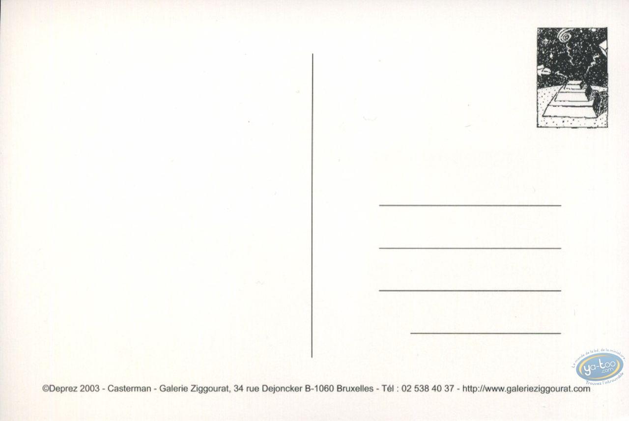 Carte postale, Fox : Visages tristes