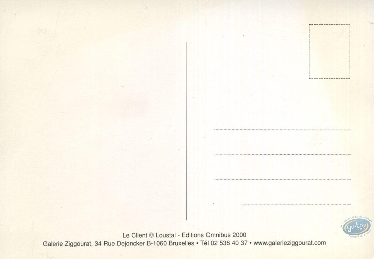 Carte postale, Le client