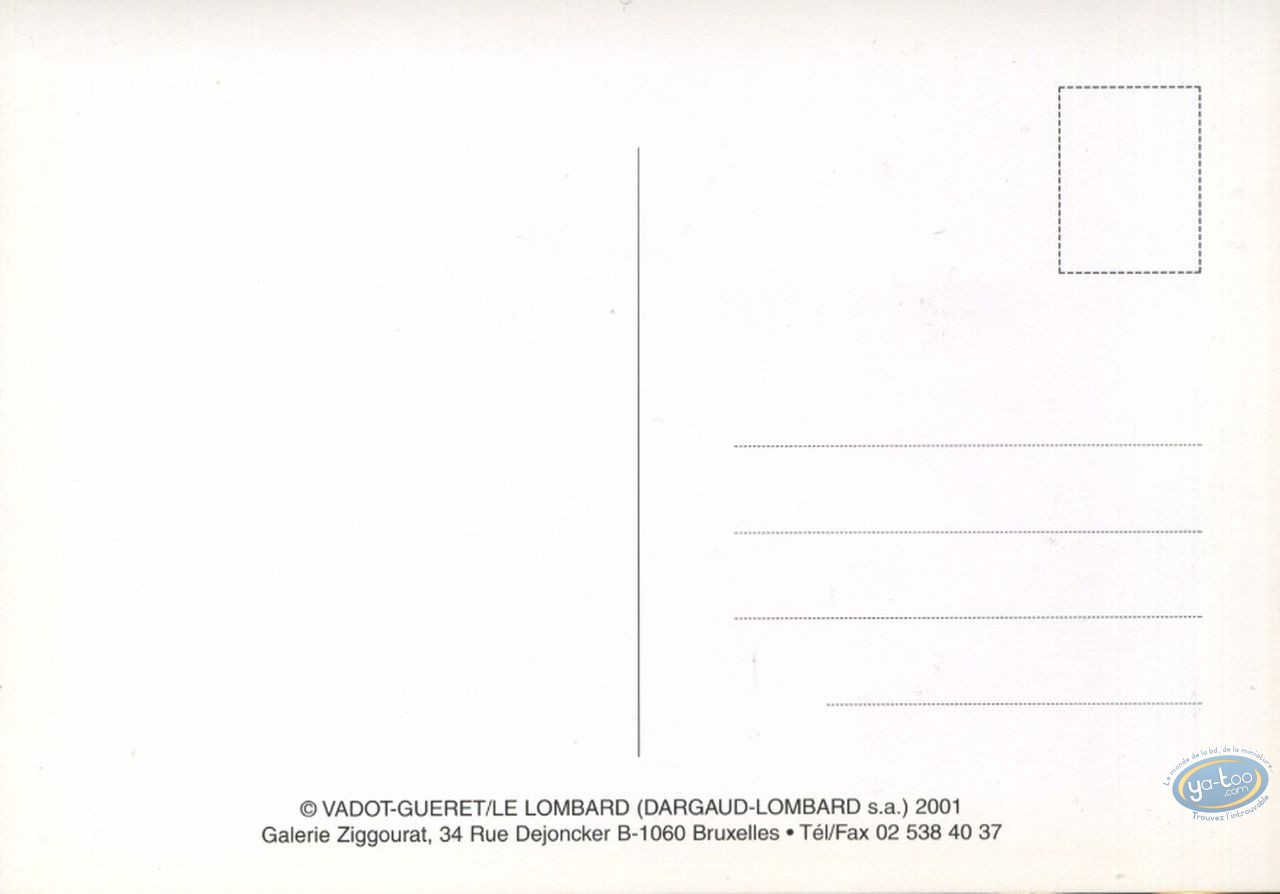 Carte postale, Norbert l'Imaginaire : Imaginaire: 1 / raison: 0