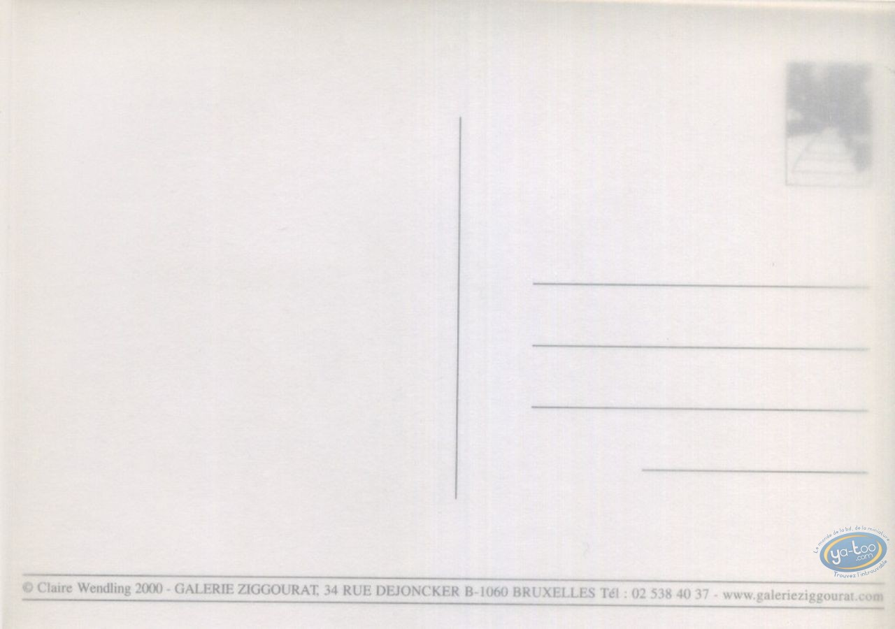 Carte postale, Aphrodite : Aphrodite - Livre troisième / invitation vernissage