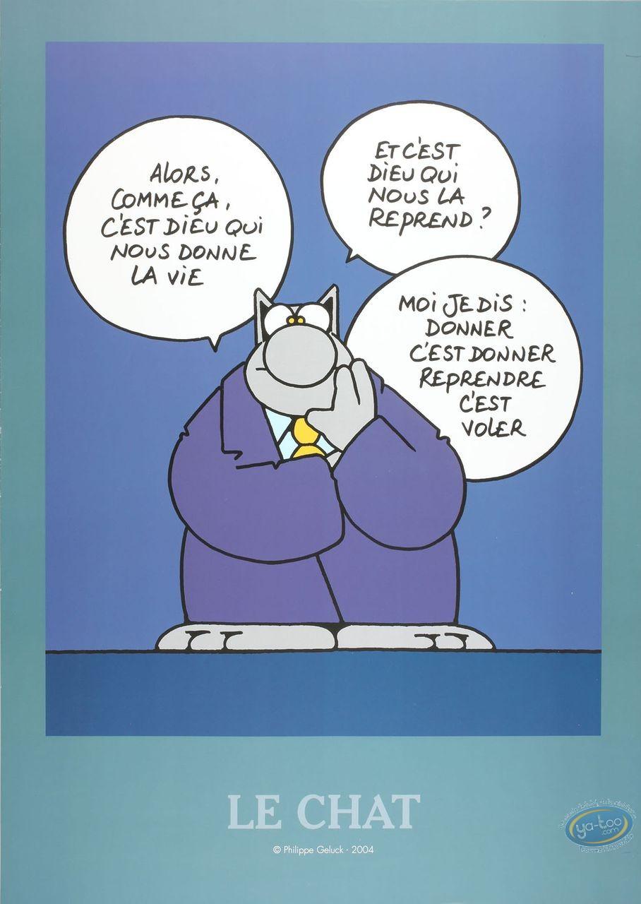 Affiche Offset, Chat (Le) : Donné la Vie