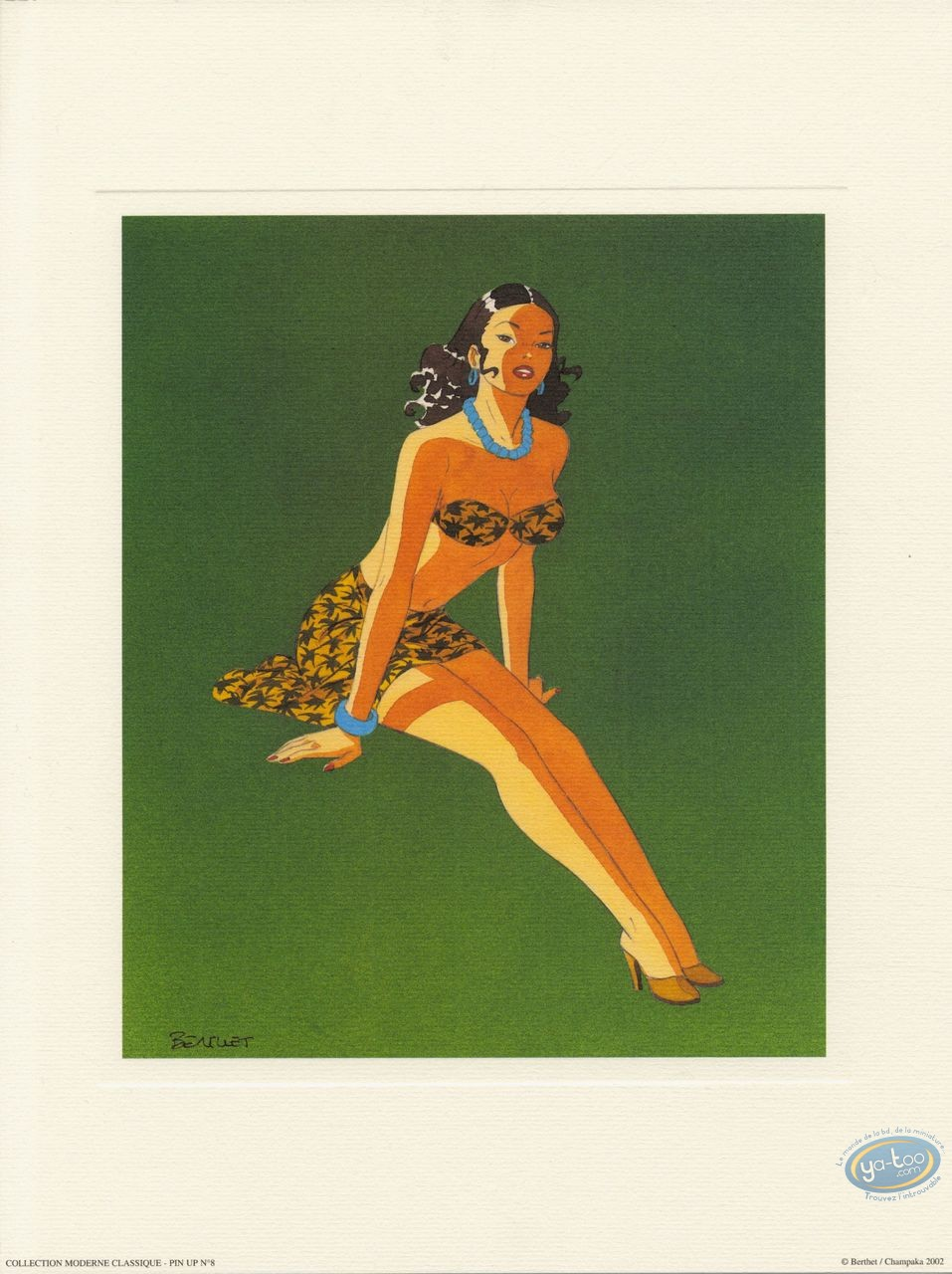 Affiche Offset, Pin-Up : Pin-up 8