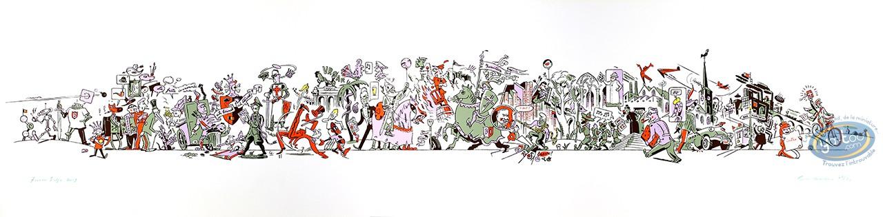 Affiche Offset, Ever Meulen : Fresco Belge
