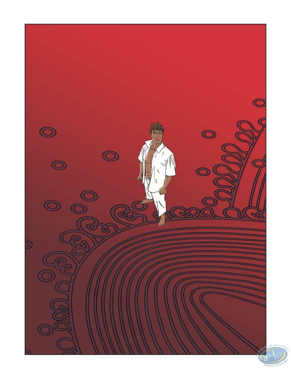 Affiche Sérigraphie, Largo Winch : Largo Winch Red Largo