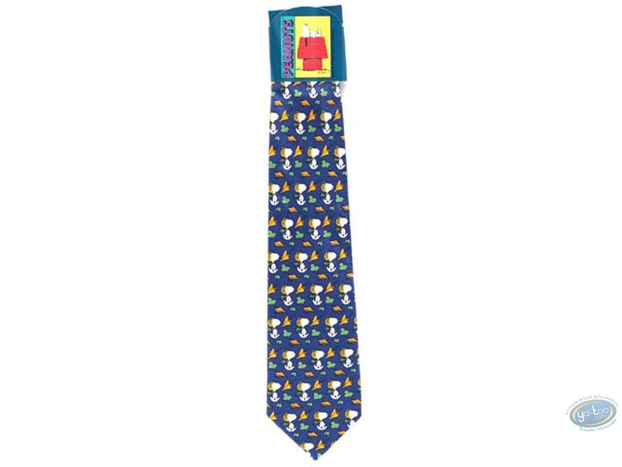 Vêtement, Snoopy : Cravate, Snoopy aviateur bleu marine