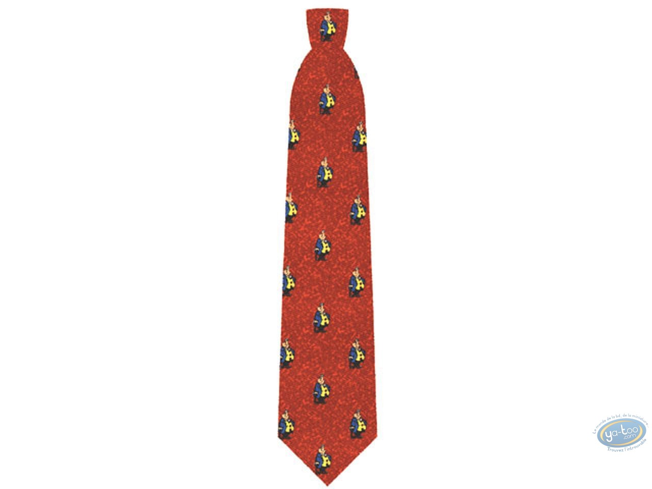 Vêtement, Achille Talon : Cravate, Achille Talon rouge