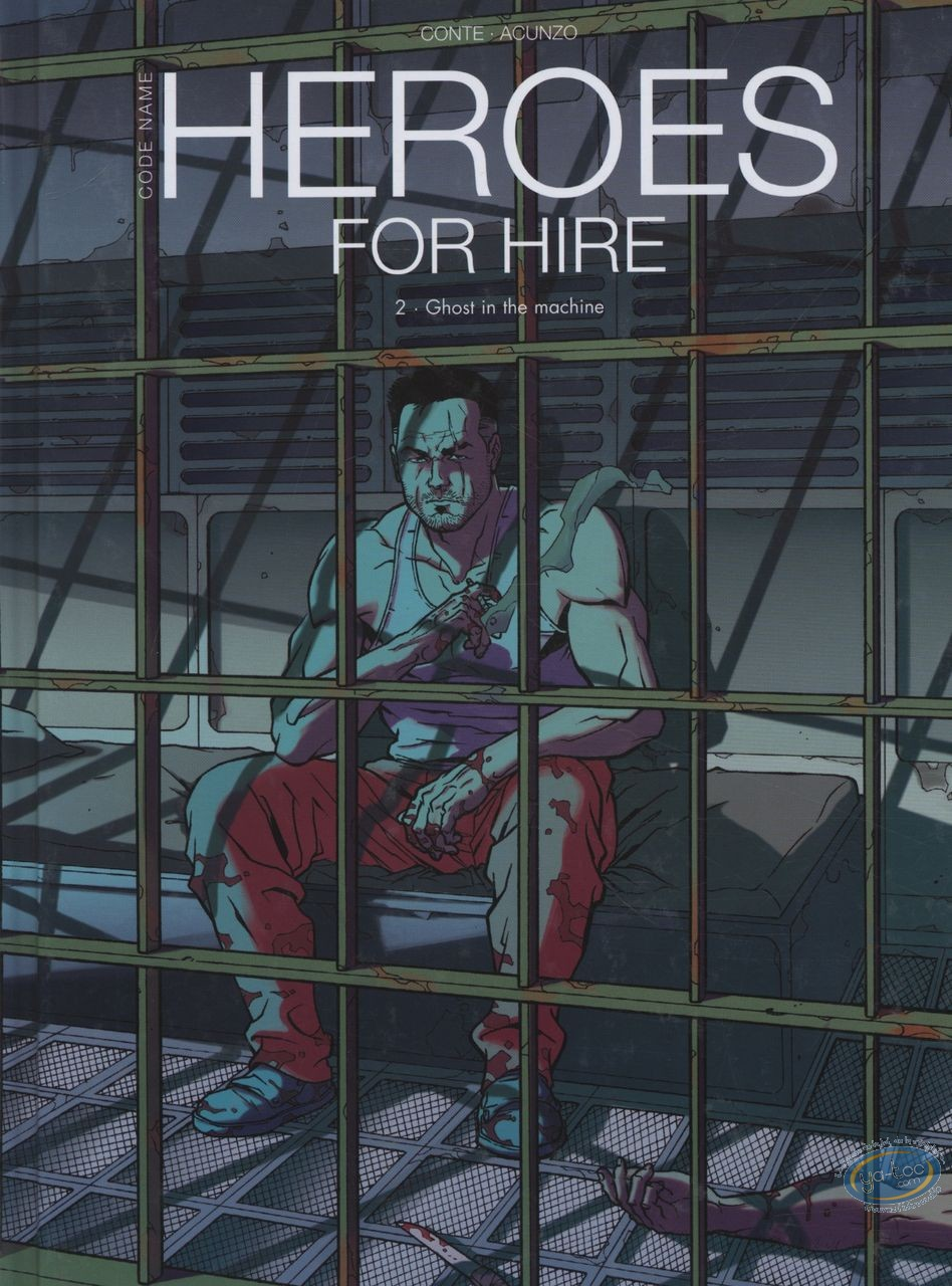 BD occasion, Heroes For Hire : Ghost in the machine