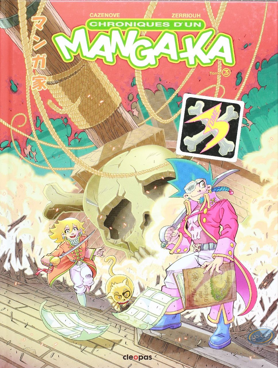 BD occasion, Chroniques d'un Mangaka Tome 03