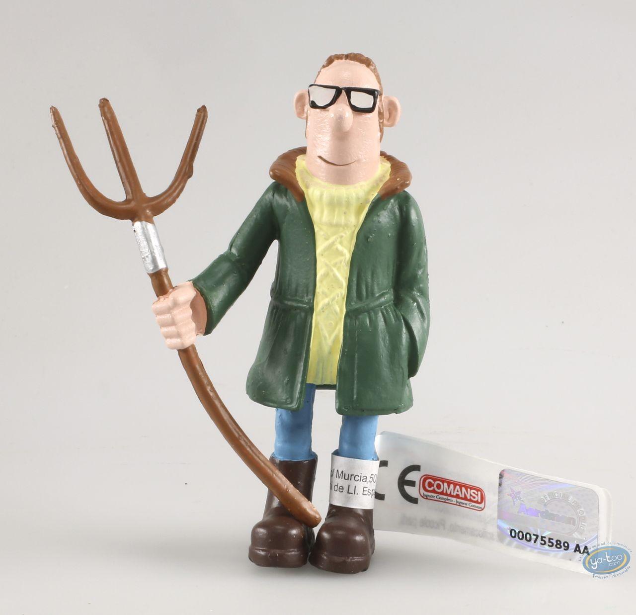 Figurine plastique, Wallace et Gromit : Le fermier - Shaun le mouton