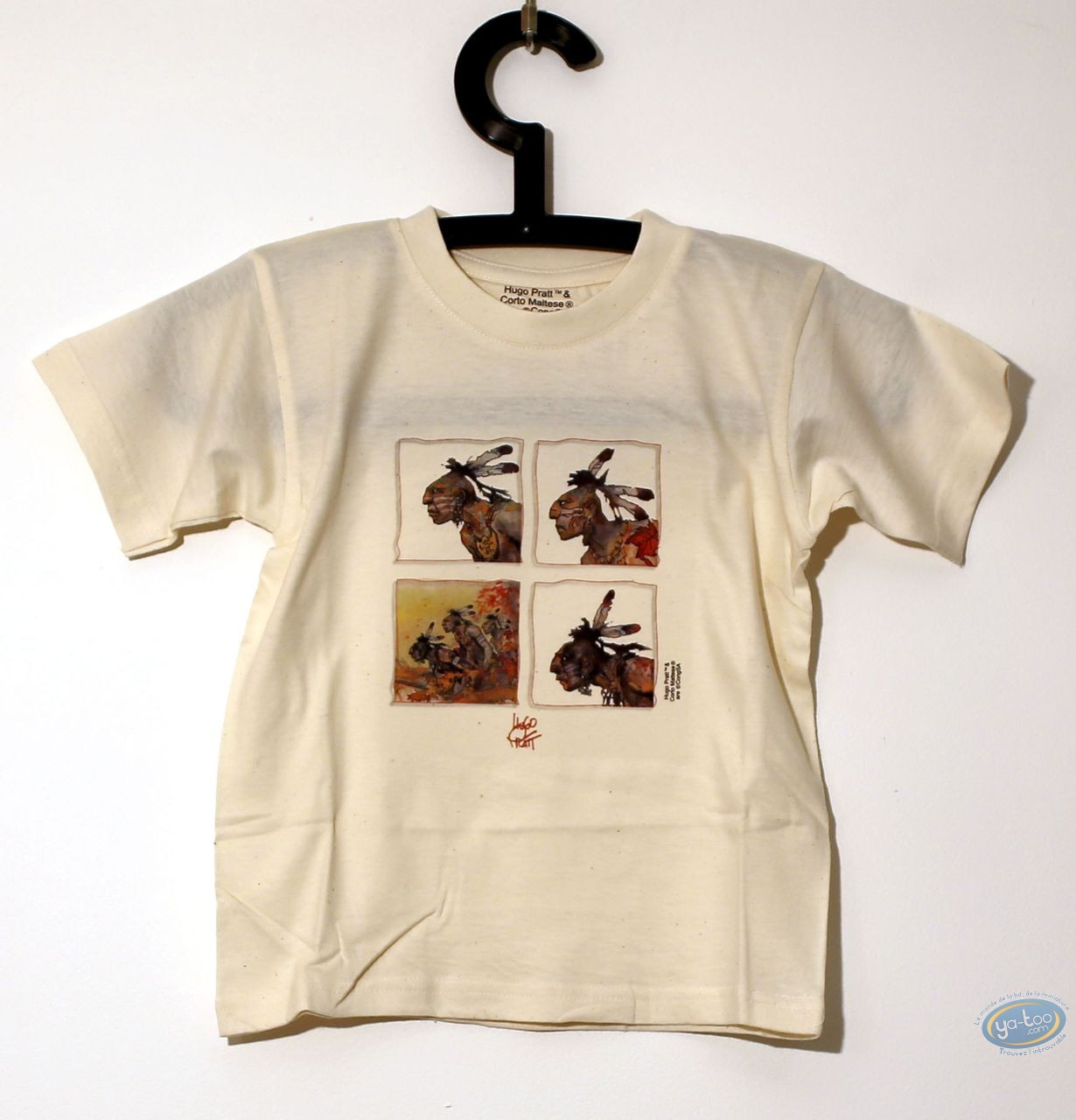 Vêtement, Corto Maltese : T-shirt, Kid 06/03 - 7/8 ans
