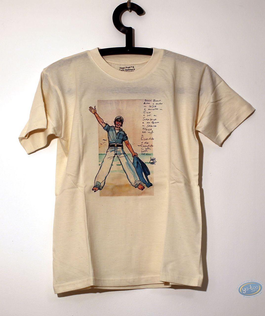 Vêtement, Corto Maltese : T-shirt, Kid 08/02 - 7/8 ans
