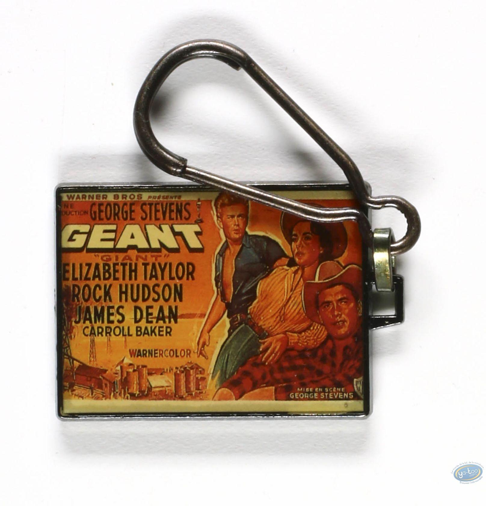 Porte-clé métal, Géant (film)