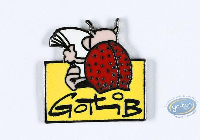 Pin's, Rubrique à Brac : Gotlib, La Coccinelle lit