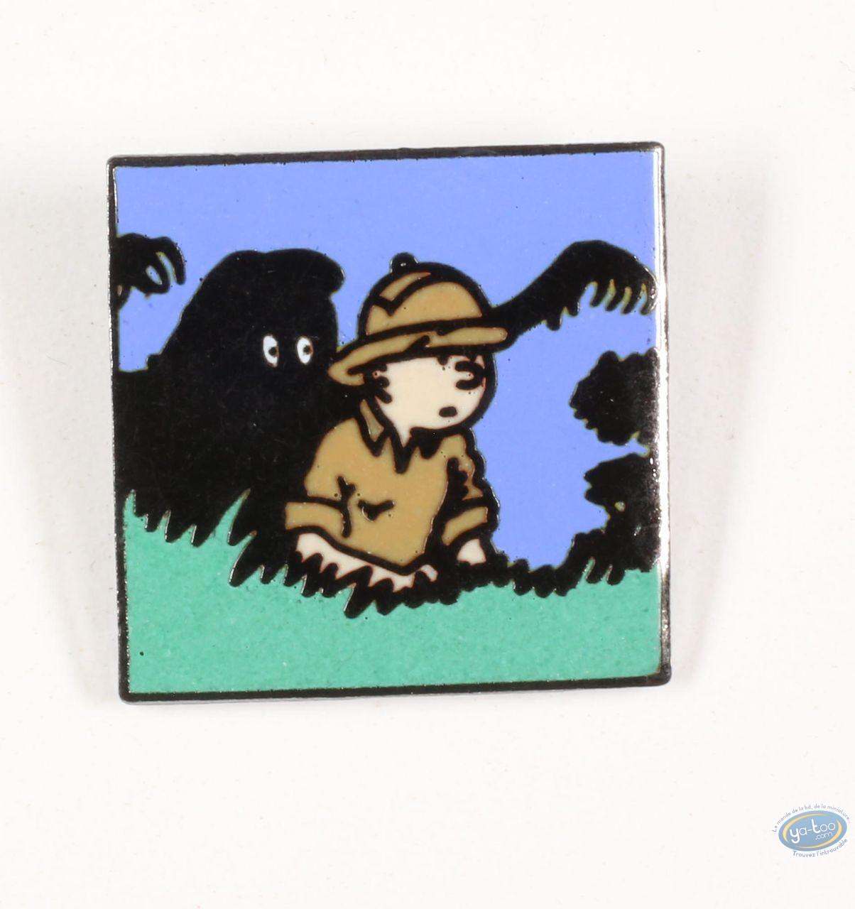 Pin's, Tintin : Tintin et l'homme Léopard