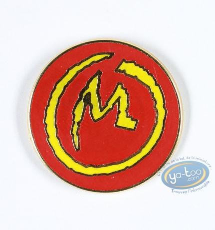 Pin's, Blake et Mortimer : La marque jaune, grand format