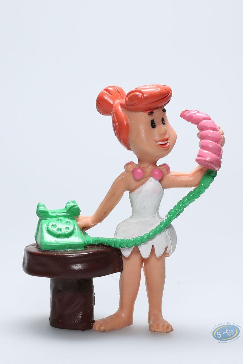 Figurine plastique, Pierrafeu (Les) : Wilma téléphone
