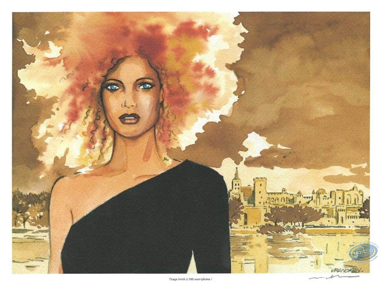 Ex-libris Offset, Femme rousse