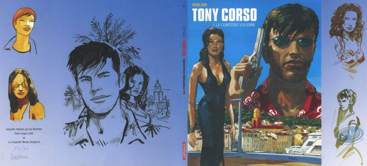 Jaquette, Tony Corso : Tony Corso