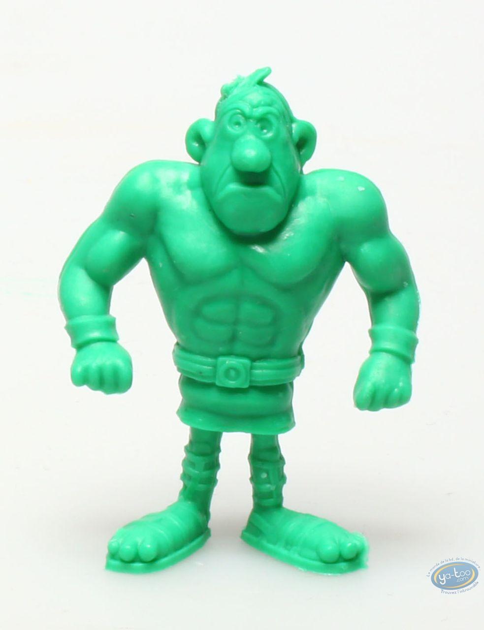 Figurine plastique, Astérix : Mini Cornedurus (vert foncé)