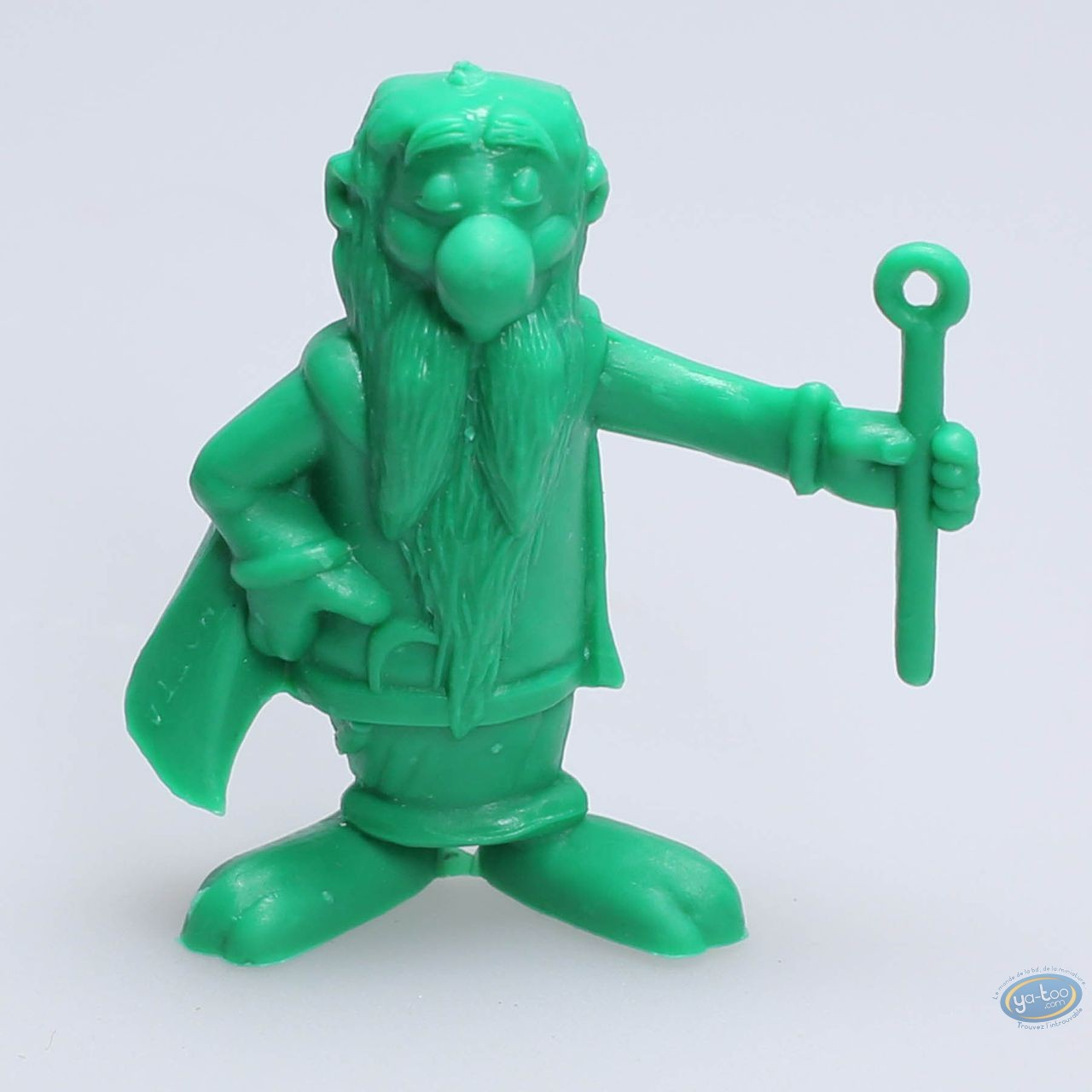 Figurine plastique, Astérix : Mini Panoramix (vert clair)