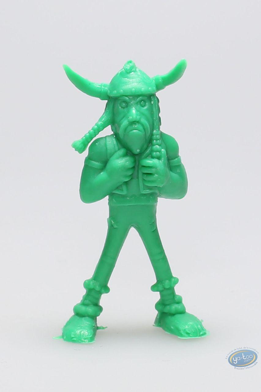 Figurine plastique, Astérix : Mini Soupalognon y Crouton (vert clair)