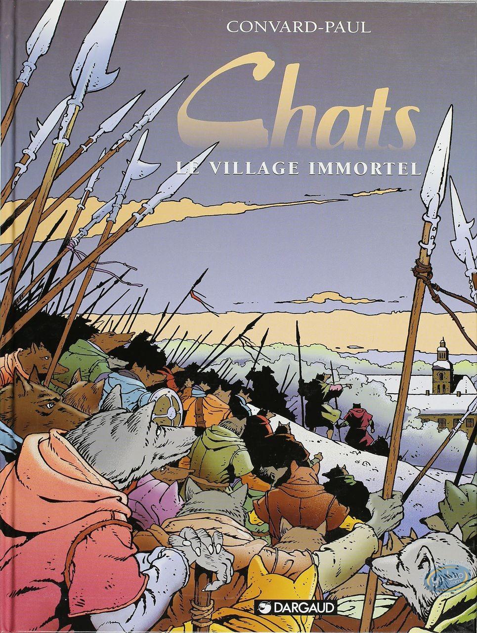 BD cotée, Chats : Chats, Le Village Immortel