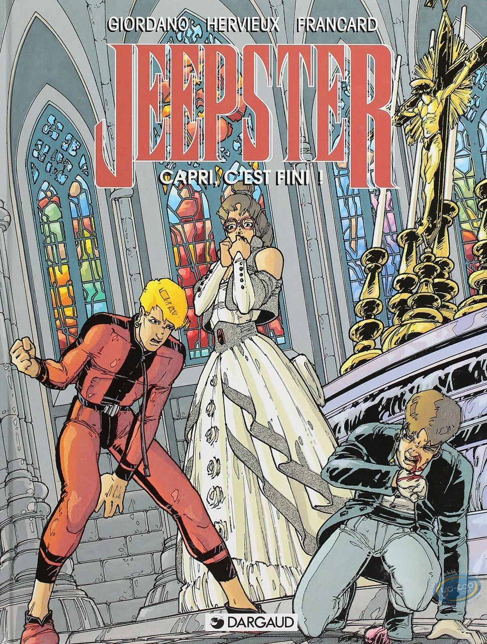 BD cotée, Jeepster : Jeepster, Capri, C'est fini!