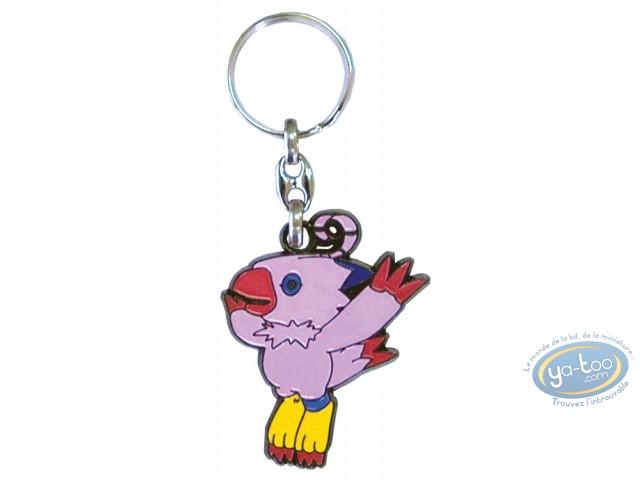Porte-clé métal, Digimon : Biyomon