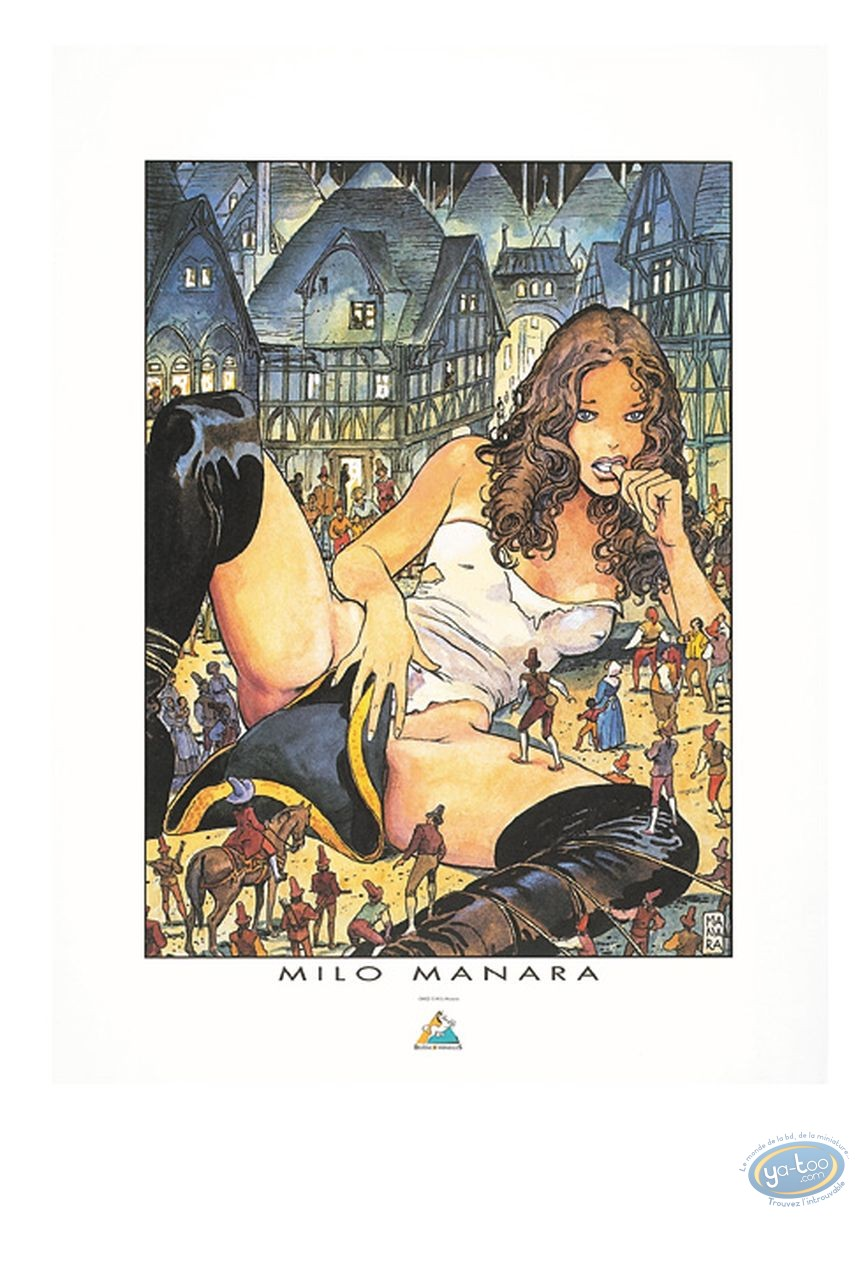 Affiche Offset, Gulliveriana : Gulliveriana, Manara