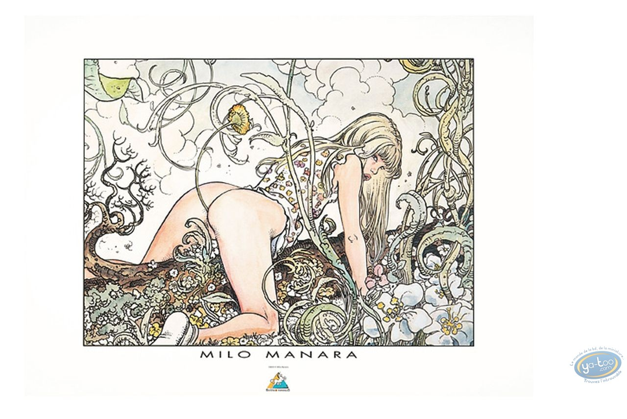 Affiche Offset, Manara : Nature, Manara