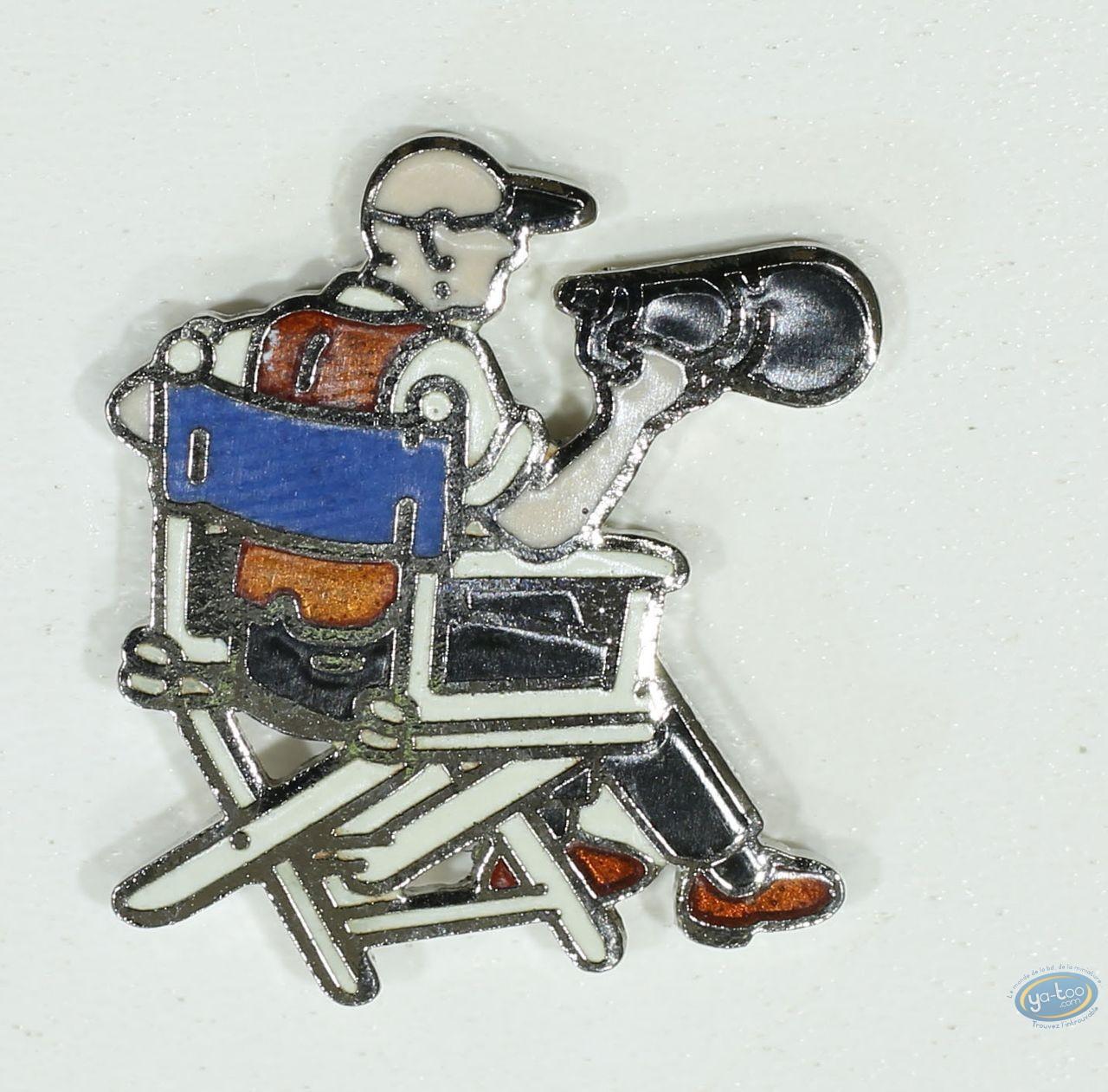 Pin's, Réalisateur sur chaise (Petit modèle)