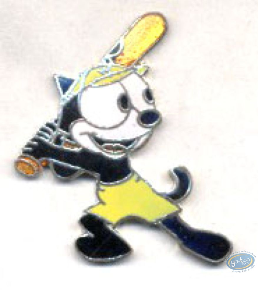 Pin's, Félix le Chat : Felix le Chat batte de base-ball