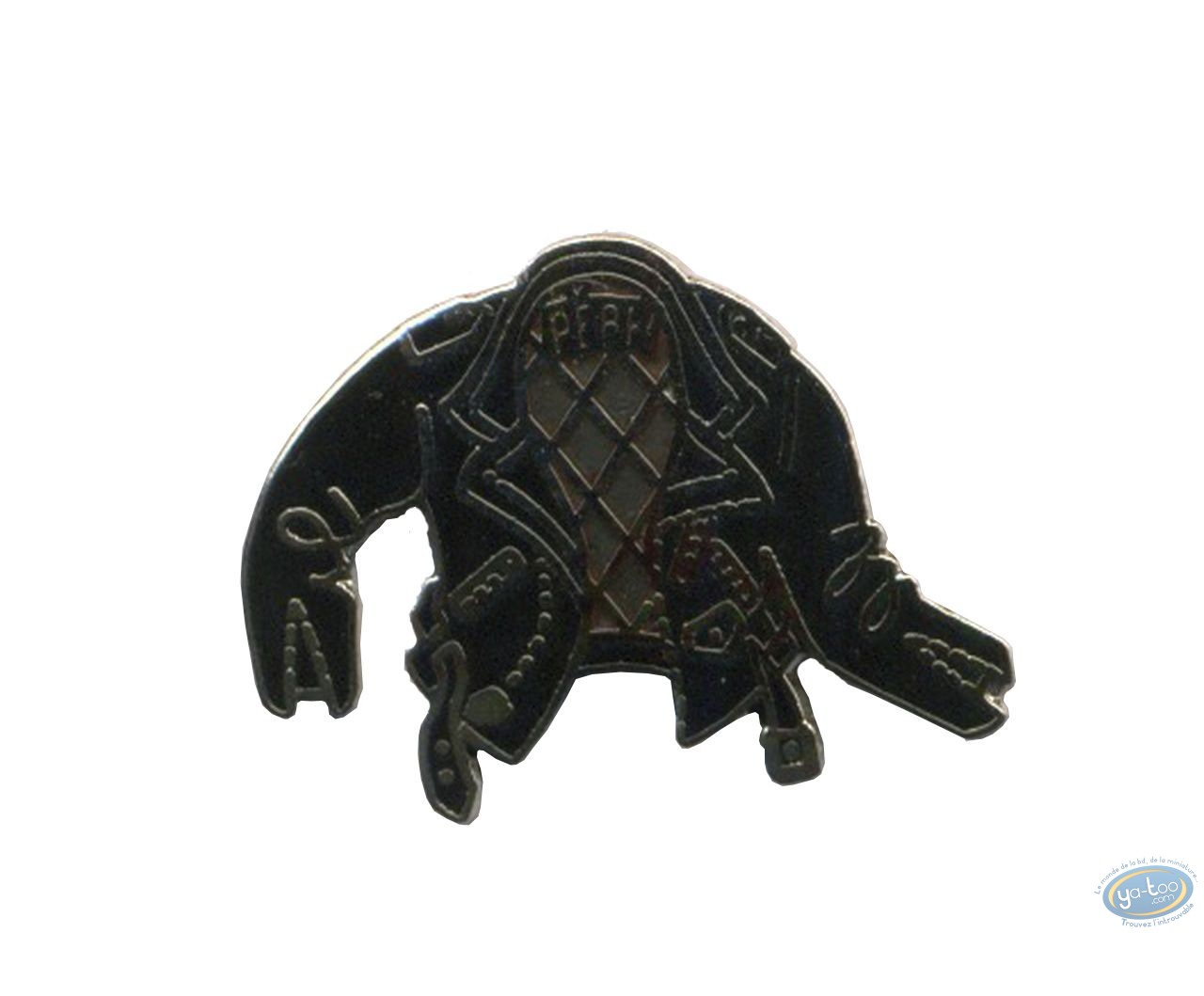 Pin's, Perfecto noir (petit modèle)