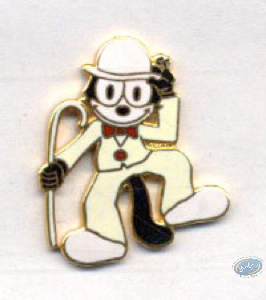 Pin's, Félix le Chat : Felix le Chat en costume blanc