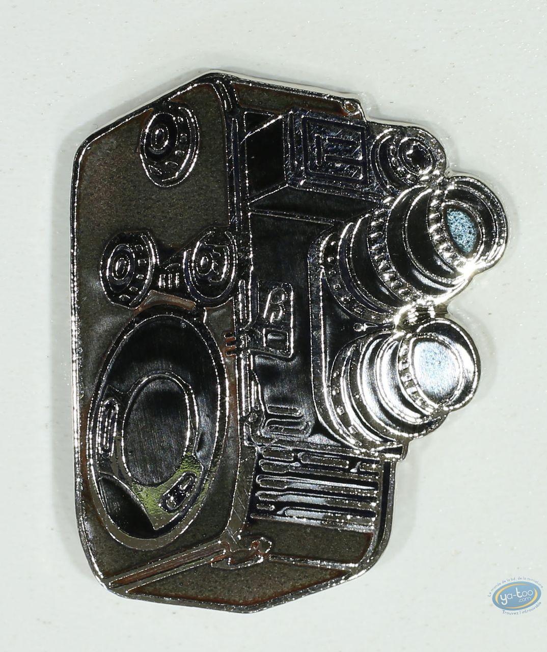 Pin's, Caméra à double objectifs verticaux