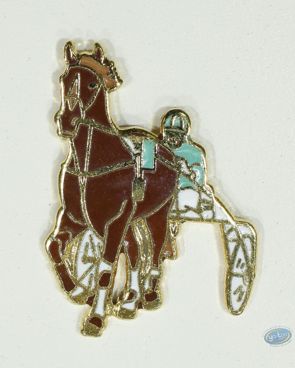 Pin's, Course cheval