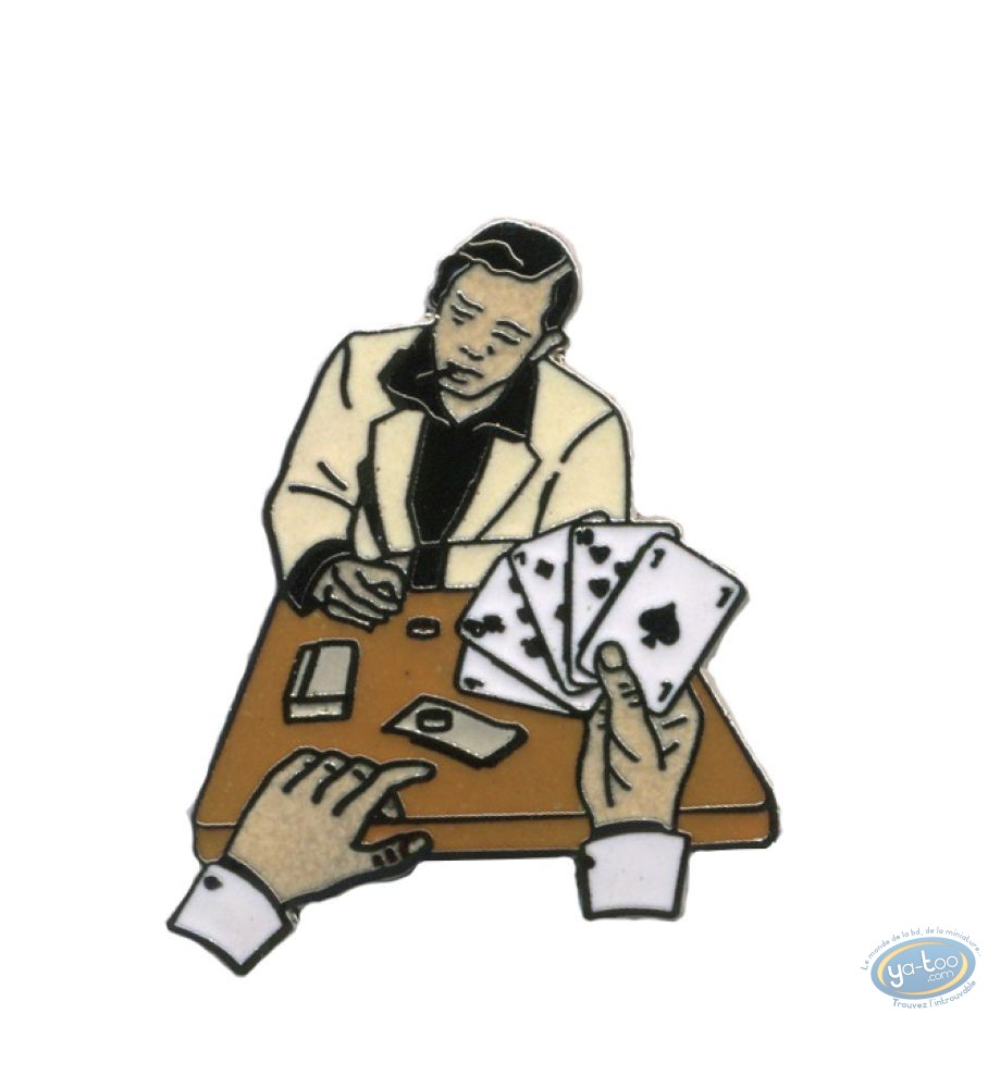 Pin's, Partie de poker