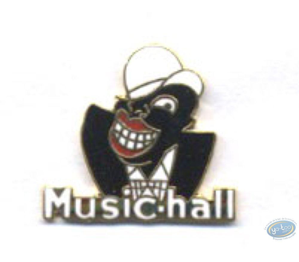 Pin's, Music hall (Petit modèle)