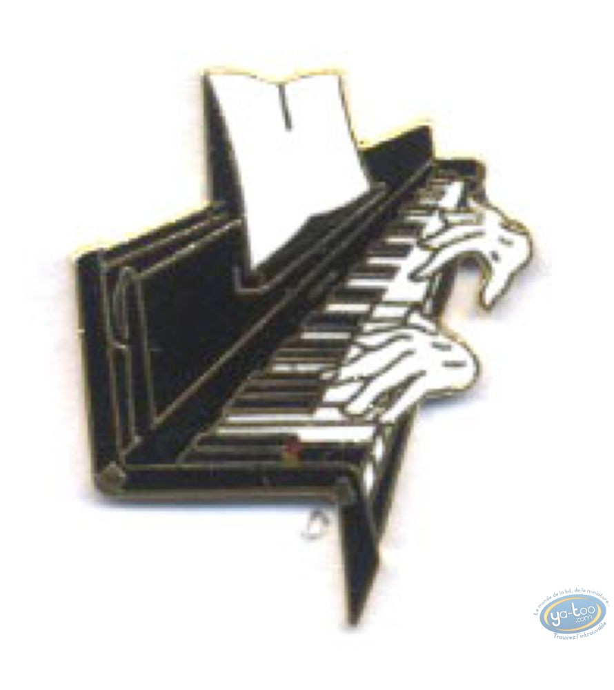 Pin's, Piano + mains