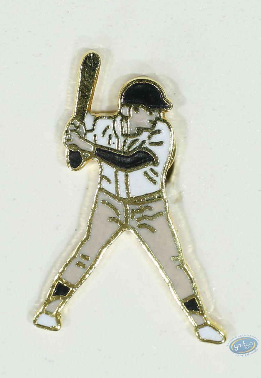Pin's, Baseballeur (petit modèle)