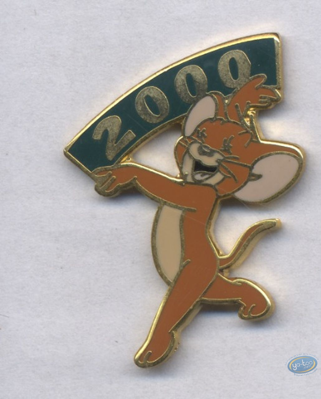 Pin's, Tom et Jerry : Jerry an 2000