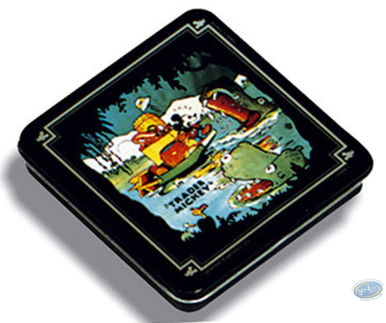 Boite, Mickey Mouse : Boite métal: Mickey Trader, Disney