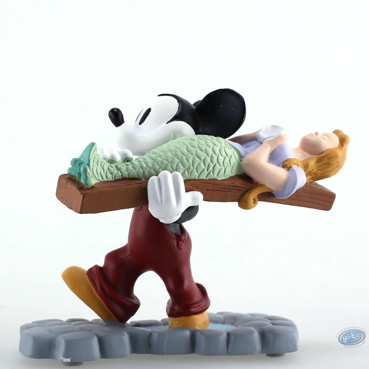 Statuette résine, Mickey Mouse : Mickey Boat Builders, Disney