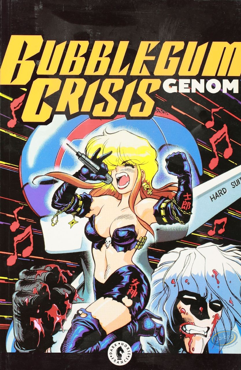 BD occasion, Bubblegum crisis : Genom
