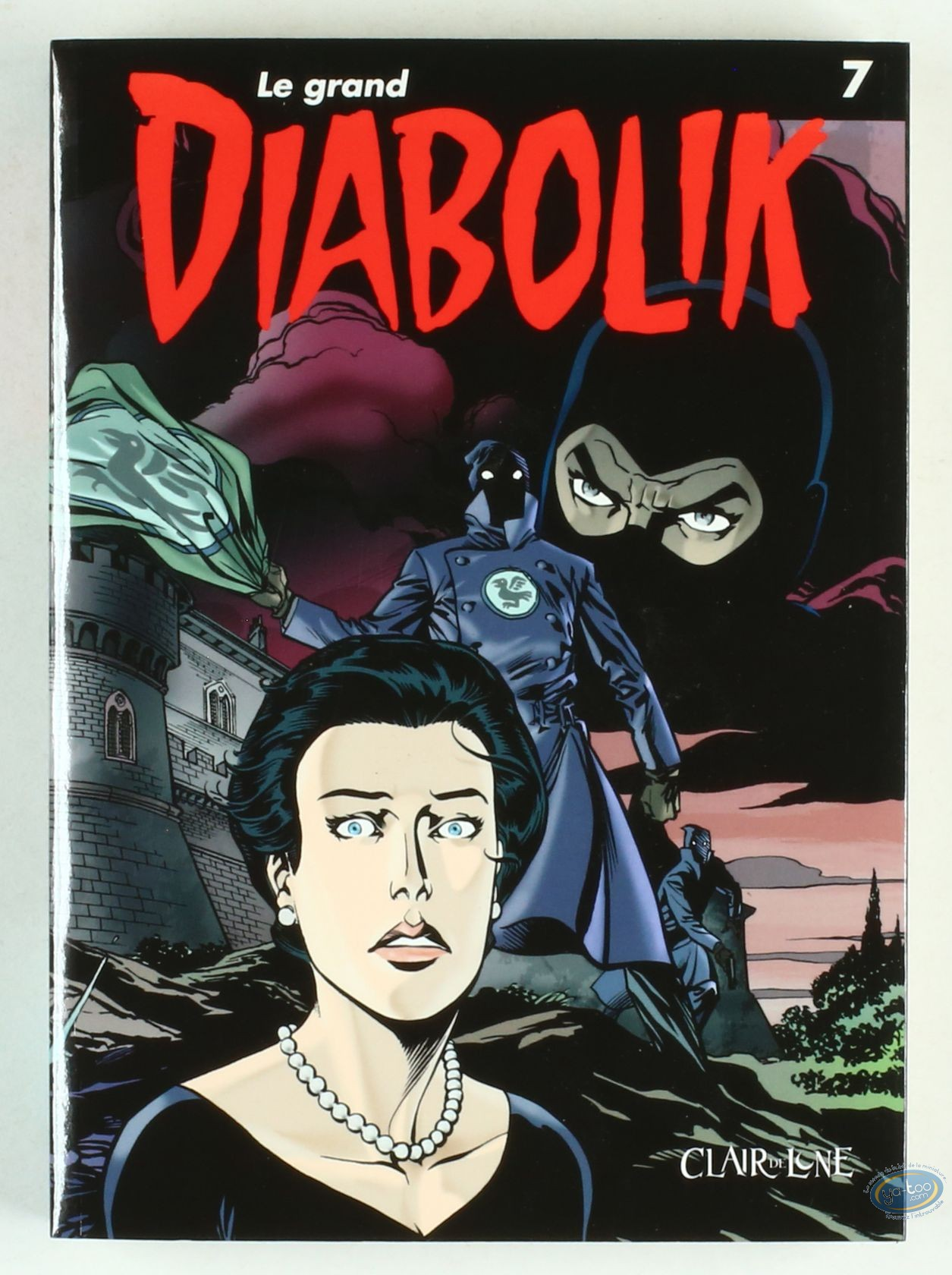 BD prix réduit, Diabolik : Le Grand Diabolik - tome 7