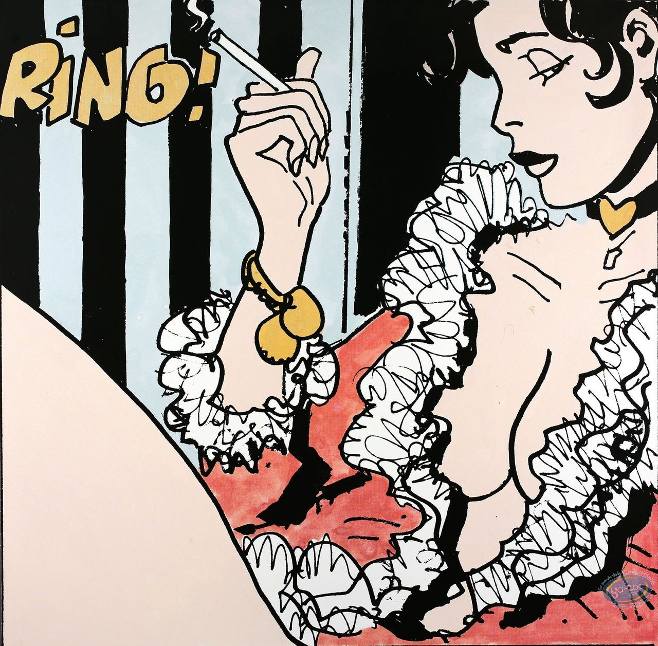 Affiche Offset, Corto Maltese : Ring