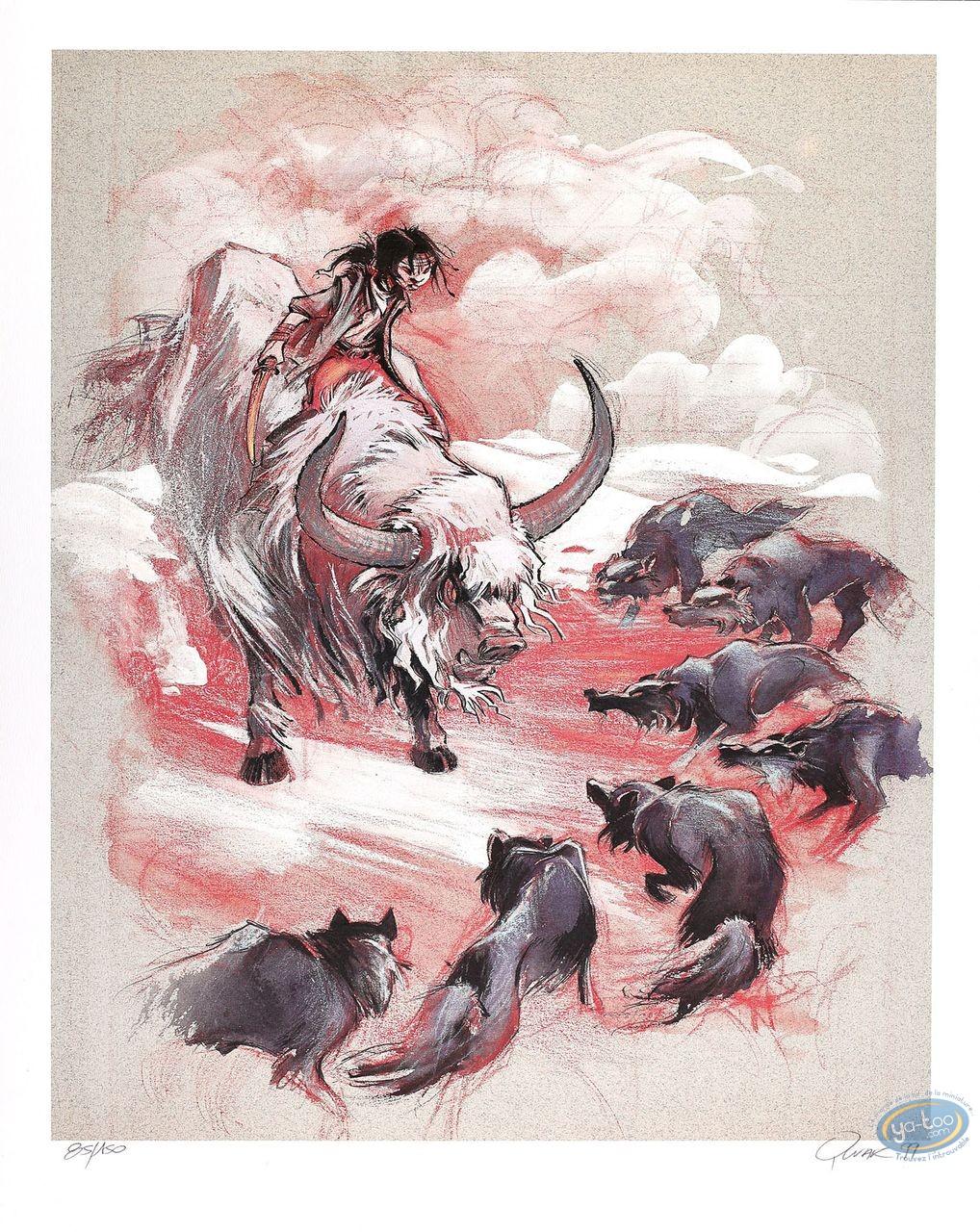 Affiche Offset, Soleil des Loups (Le) : Buffle