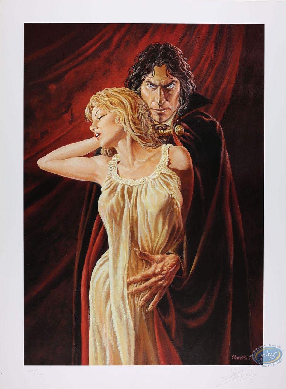 Affiche Offset, Prince de la Nuit (Le) : Kergan et sa proie (satiné)